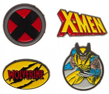 X-Men Theme SET OF 4 Metal/Enamel Lapel Pins