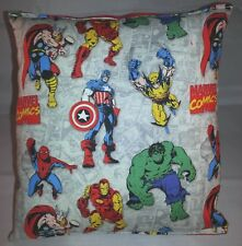 Marvel Pillow Vintage Hulk , Iron man , Captain America , Wolverine , Spider-Man