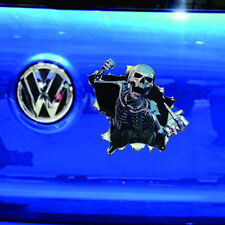 Cool Skeleton Scared Skull Window Car Truck Auto Motor Sticker Decal Best Match