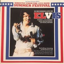 ELVIS DIRECTLY FROM 8/5/72 SUMMER FESTIVAL*2008 LV ARCHIVES CD*NEW*OOP