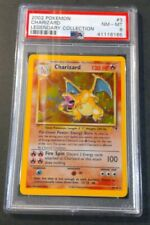 CHARIZARD Legendary Collection Holo Rare PSA 8 POKEMON Card RARE PSA ERROR LABEL