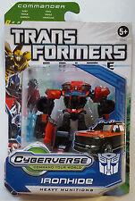 Transformers Prime Commander Class Ironhide  Cyberverse Action Figure New