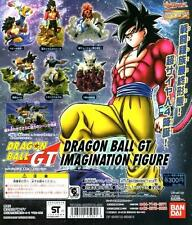 Bandai Dragonball GT Imagination Gashapon Figures , 6 pcs