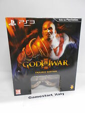 GOD OF WAR III 3 TRILOGY COLLECTOR'S EDITION - SONY PS3 - NUOVO NEW VERSIONE ITA