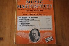 Musical Masterpieces 6: Percy Pitt 5 Complete Pieces: World's Operas/Plays
