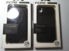 2 CASES  for HTC Desire 530 Incipio DualPro Silicone Hybrid Shell Cover Black