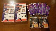 *SEALED* 2x MLB Showdown 2000, Gridiron Football, Racing Challenge Card Pack Set