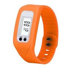 Unisex Digital Pedometer Run Step Walking Distance Calorie Counter Sports Watch