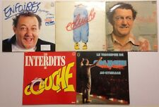 LOT DISQUES 33T SPECIAL COLUCHE
