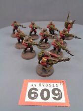 Warhammer 40,000 Astra Militarum Imperial Guard Squad Cadian Praetorian 609