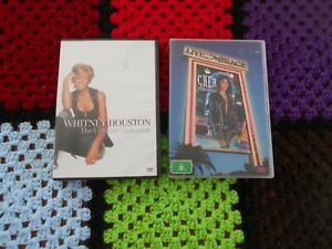 2 DVDs MUSIC  - Whitney Houston COLLECTION -  + CHER  EXTRAVAGANZA LIVE hits