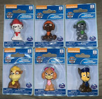 Paw Patrol 6 Fig Set 2.5 Inch Skye Marshall Zuma Chase Rocky Rubble Cake Topper