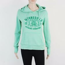 New Look Womens Size 16 Lightweight Green Pullover Hoodie Sweat
