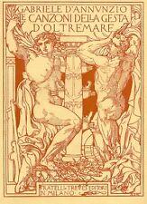 D'ANNUNZIO Gabriele, Laudi del cielo, mare, terra, eroi. Libro IV: Merope. 1915