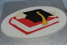 Graduation Cake Topper Handmade Sugarpaste Custom Colours Available