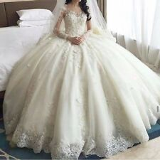 New White wedding bridal gown dress custom size 6-8-10-12-14-16++++