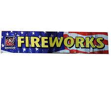 Shogun Pyrotechnics 2' x 10' Outdoor Fireworks Banner