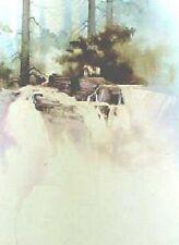 RIVERS CROSSING  - MICHAEL ATKINSON - LTD ED Print