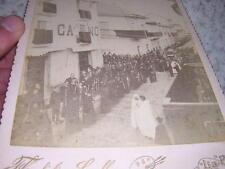 1885.photographie procession La paz.Bolivie.Cordiglia