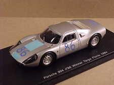 Spark 1/43 Resin Porsche 904, Winner '64 Targa Florio, #86 Davis & Pucci  #S3449