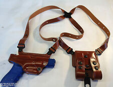 Galco Miami Classic Shoulder Holster, RH Tan for Sig 9's.40+.45 # MC248