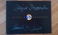 Original Sales Brochure: CIZETA MORODER V16-T ** with Autographs **