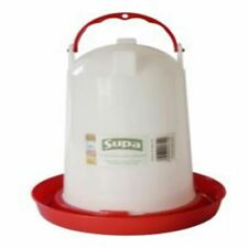 Poultry Drinker: Supa Bird Drinker Large 3 Litre For Chicken / Quail / Aviary