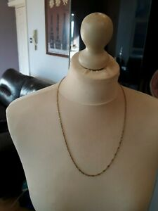 18 ct gold rope chain 24 inch