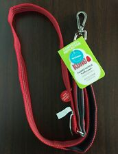 KONG Padded Comfort Reflective Traffic Leash RED 4 FT