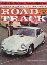 December 1963  Road & Track Magazine Porsche Six Cylinder 2+2 Cover