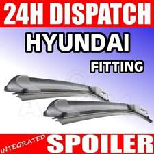 "Flat FX aero Wiper Blades For Hyundai coupe 01+ 21/18"""