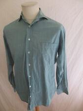 Camisa vintage Hugo Boss Verde Talla 38