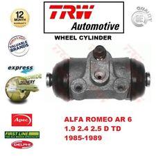 Für Alfa Romeo Ar 6 1.9 2.4 2.5 D Td 1985-1989 1x Hinterachse Radbremszylinder