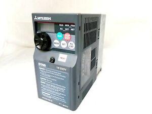 MITSUBISHI FR-D720S-025-EC D700 SINGLE TO 3-PHASE 0.4KW INVERTER