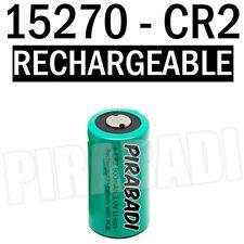 1 PILE ACCU BATTERIE 15270 CR2 CR-2 Li-ion 3V 800Mah RECHARGEABLE