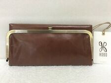 Hobo Bags Genuine Leather Woodlands Rachel Clutch Wallet Coin Purse Retail $148