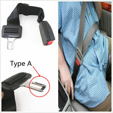 "15""-19"" Car Seat Belt Buckle Extender TYPE A Adjustable Improves Comfort&Safety"