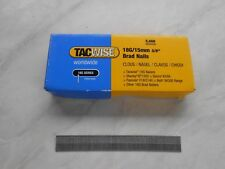 2 Box of Tacwise 18g/15mm Brad Nails
