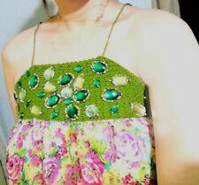 floral Maxi silk Dress