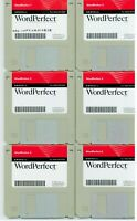 ITHistory (1995) Software: NOVELL Wordperfect 3.5 (8 Diskettes) (Apple Mac) Q
