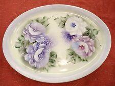GORGEOUS HAND PAINTED,SIGNED Schmidt Porcelana Porcelain Platter Brazil AWESOME!