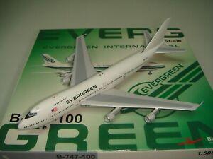 "BigBird 500 Evergreen International B747-SR-46SF ""1990s Interim color"" 1:500"
