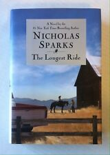 The Longest Ride SIGNED by Nicholas Sparks (2013, Hardcover) 1st/1st