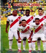 Peru 2017 Rumbo al Mundial Rusia 2018 Soccer sticker pack