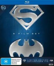 Batman & Superman Anthology Blu-ray 9-Disc Set Limited Edition RB New Tin pack