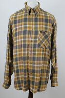 MARLBORO CLASSICS Checked Long Sleeve Shirt size XL