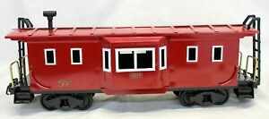 Buddy L Outdoor Railroad OBSERVATION CAR #3017 T-REPRODUCTIONS Train Set RED