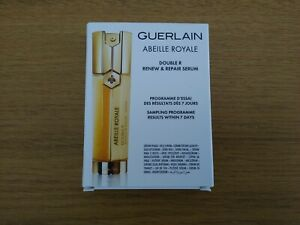 NEW Guerlain Abeille Royale Double R Renew and Repair Serum - 8x 0.6ml Samples