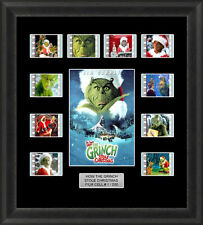 How the Grinch Stole Christmas Framed 35mm Film Cell Memorabilia Filmcells Movie