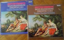 BACH. Brandenburg Concertos. Benjamin Britten. ECO. SXL 6774, 6775